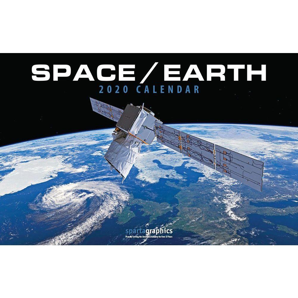 2021 SpaceEarth Deluxe Wall Calendar