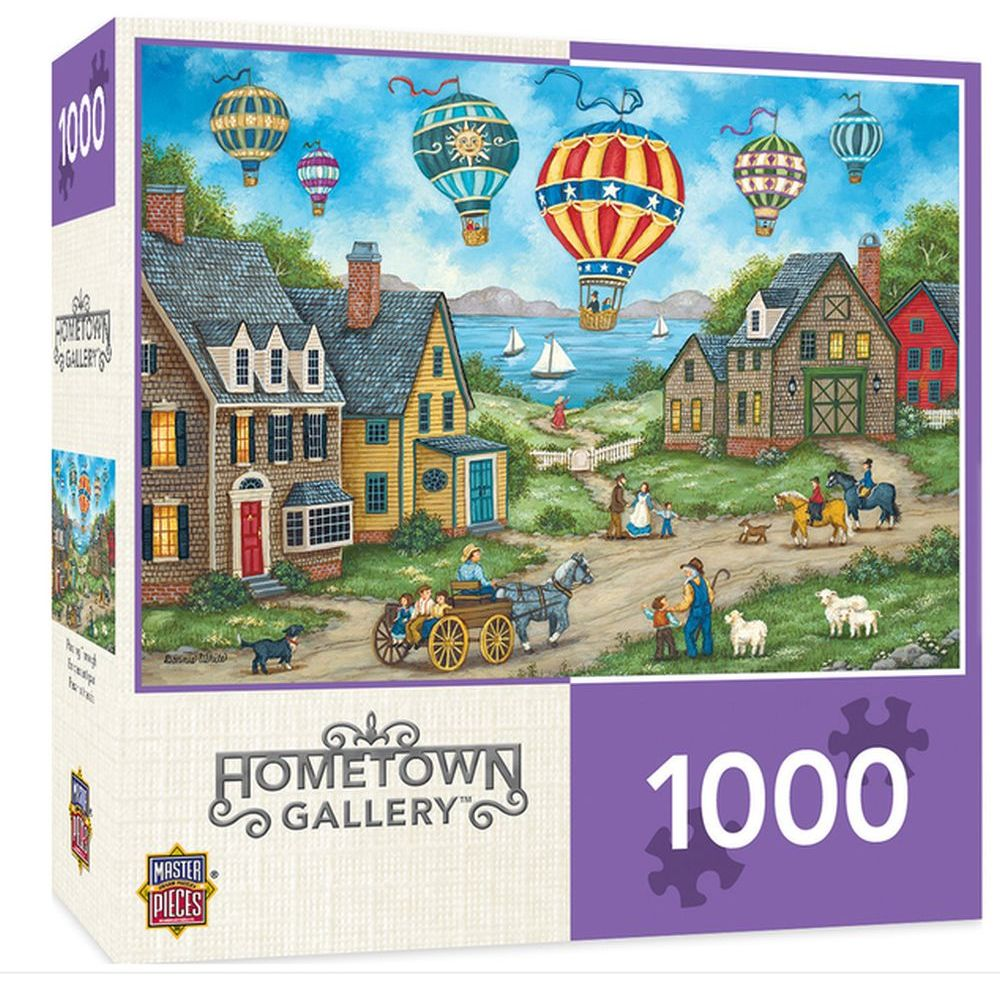 Best Hometown Passing Through 1000pc Puzzle You Can Buy
