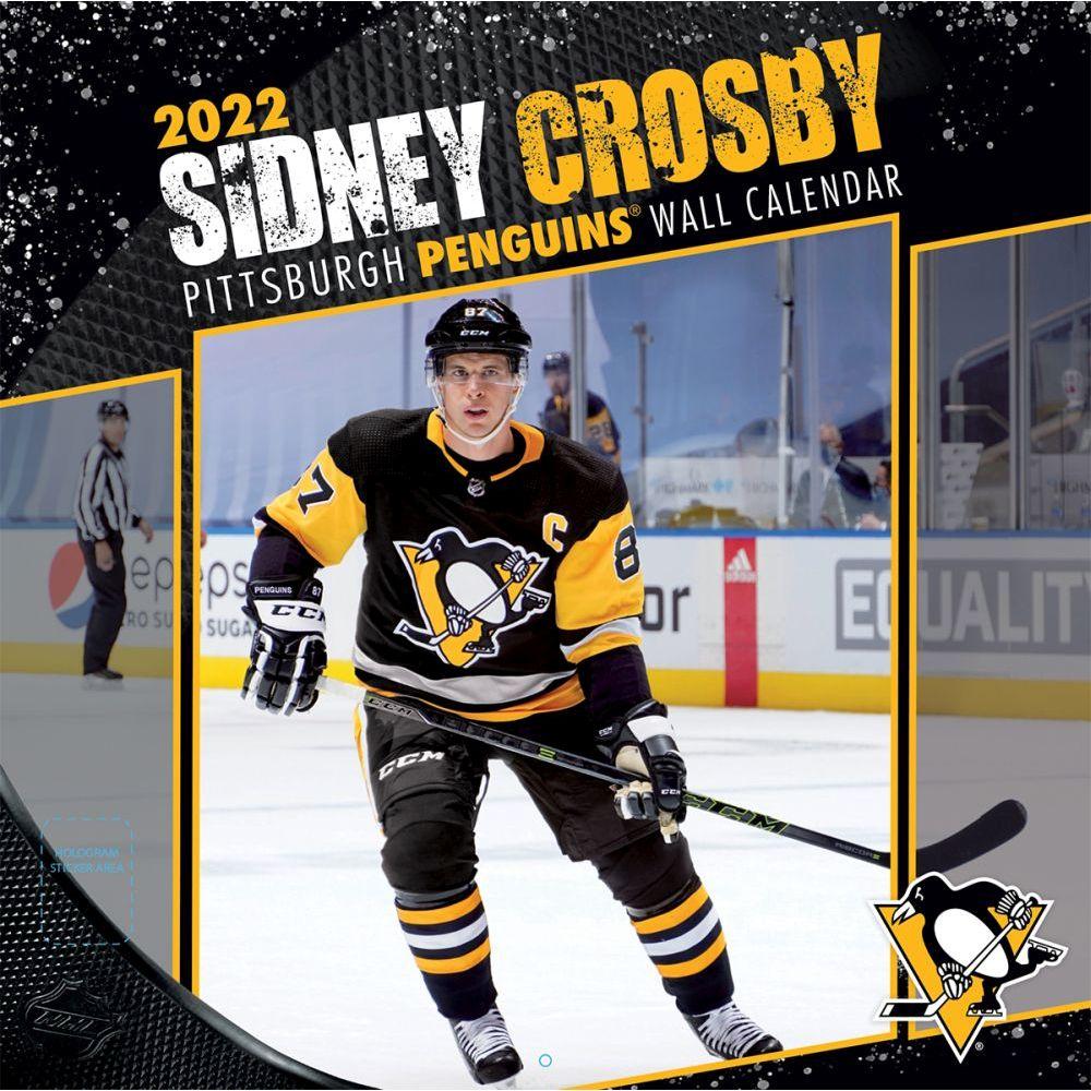 NHL Sidney Crosby 2022 Wall Calendar