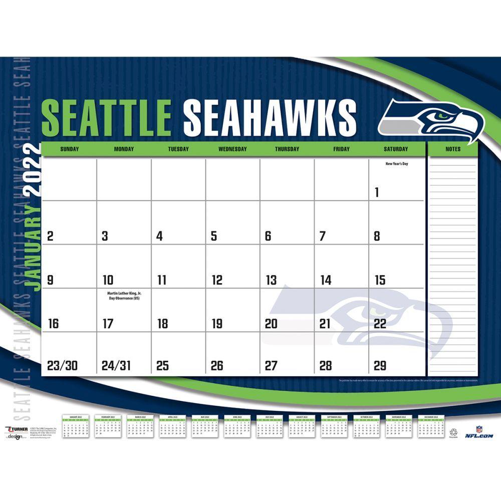 Seattle Seahawks 2022 Desk Pad