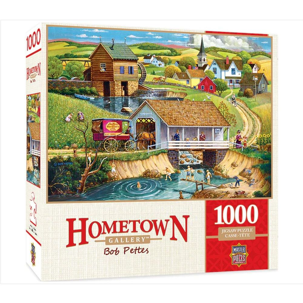 Best Hometown Last Swim of Summer 1000pc Puzzle You Can Buy