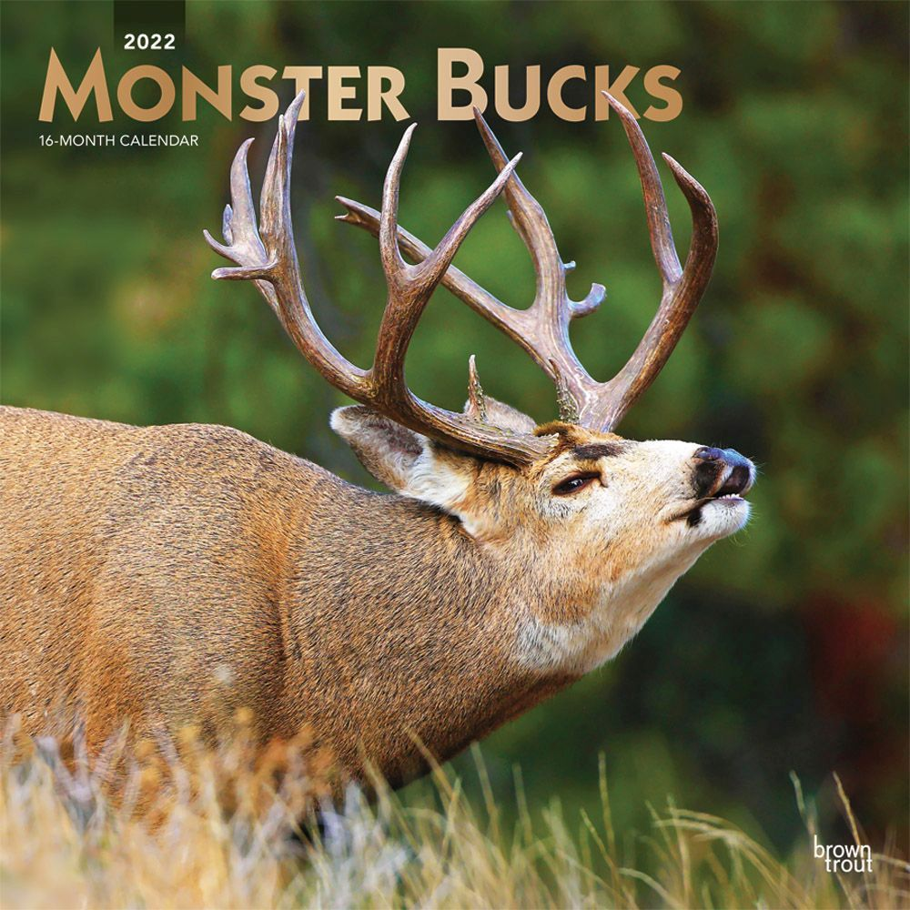 Monster Bucks 2022 Wall Calendar