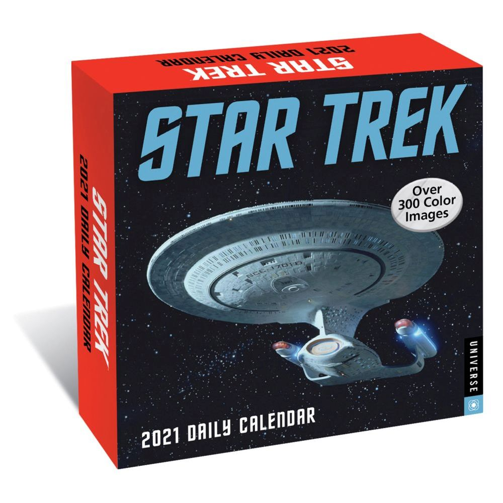 2021 Star Trek Desk Calendar