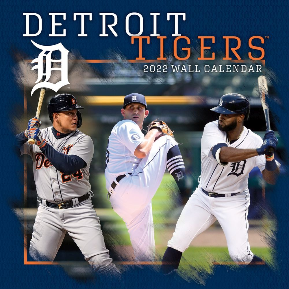 Detroit Tigers 2022 Wall Calendar