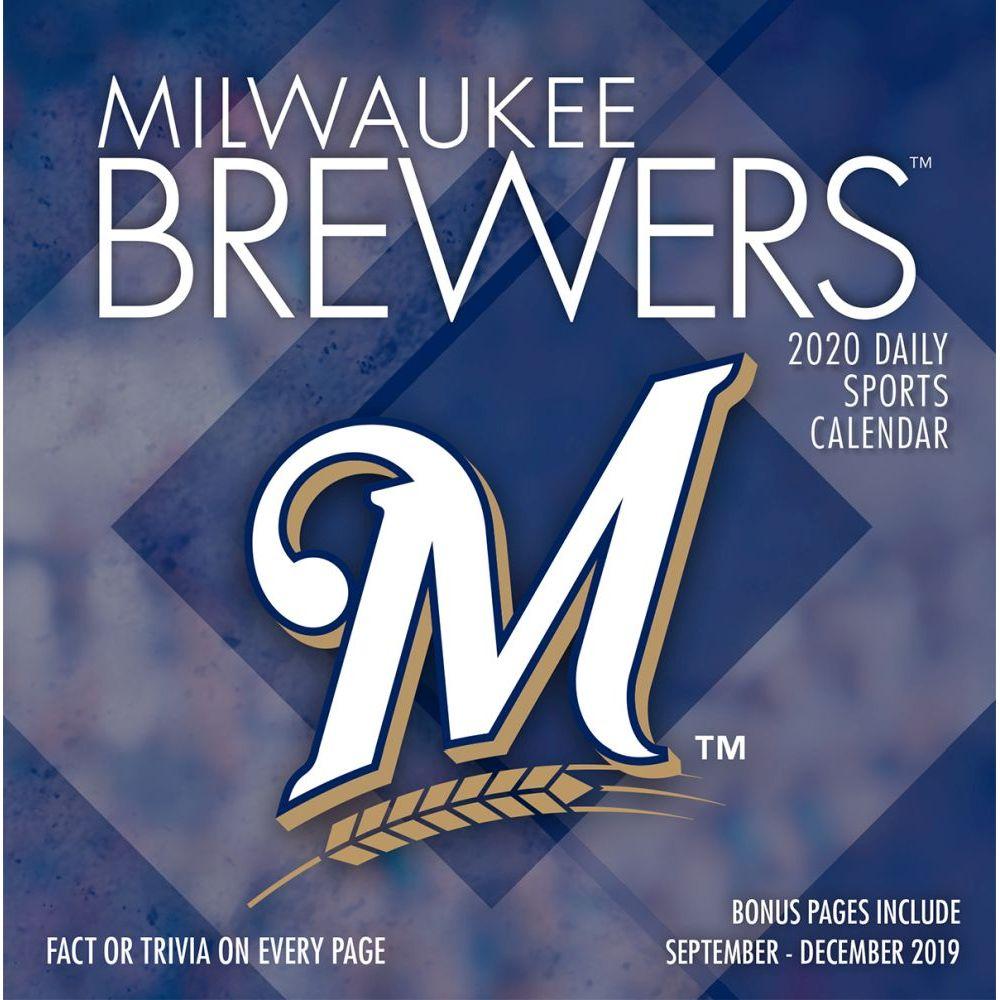 Milwaukee Brewers 2021 Desk Calendar