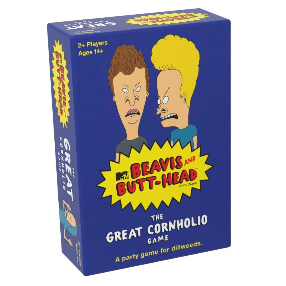 Beavis & Butthead The Great Cornholio Game