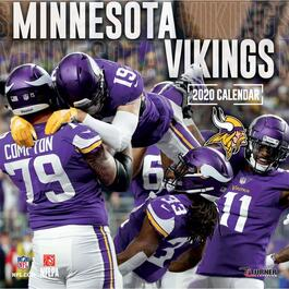 Minnesota Vikings Wall Calendar