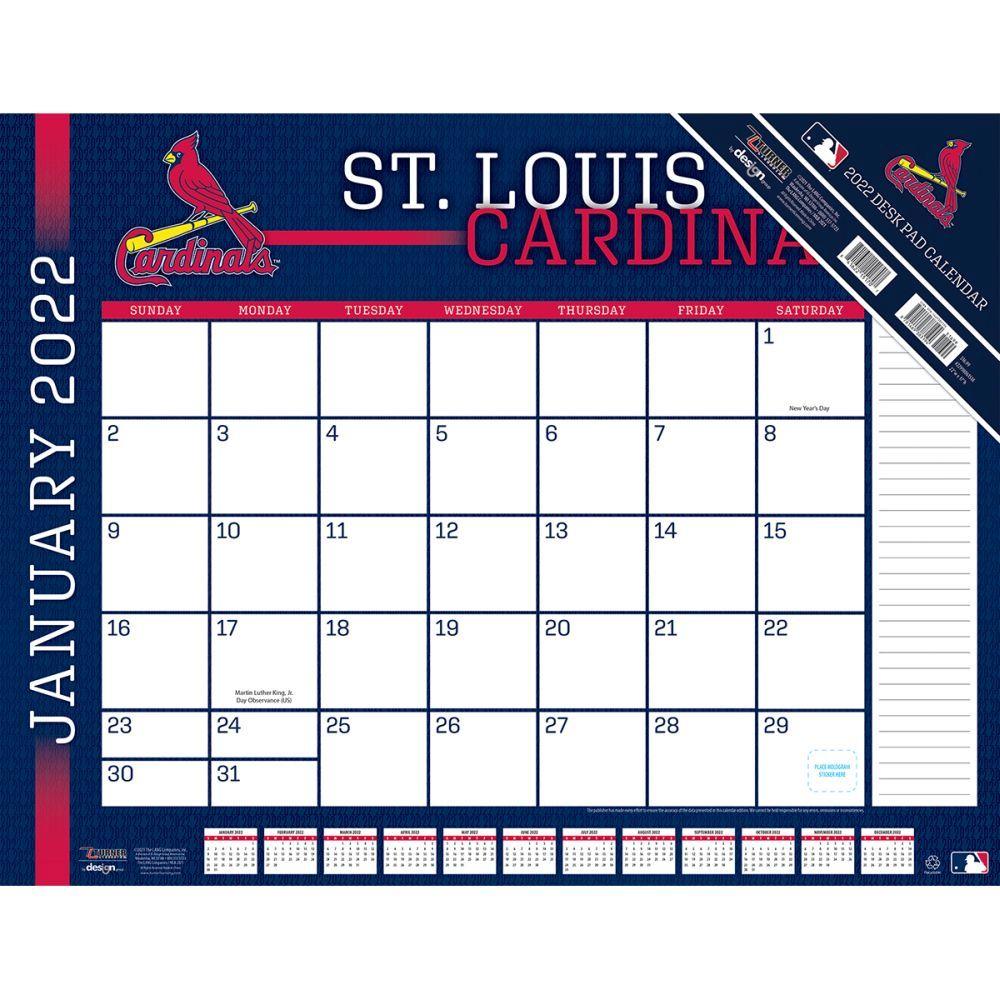 St. Louis Cardinals 2022 Desk Pad