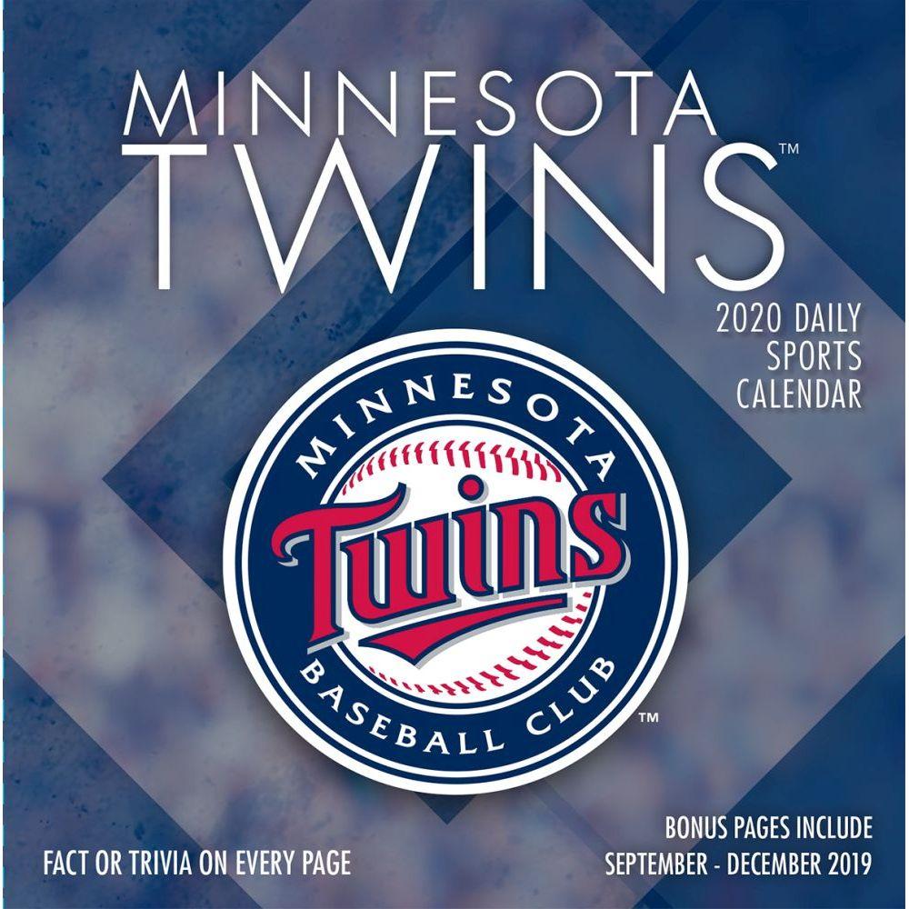 Minnesota Twins 2021 Desk Calendar