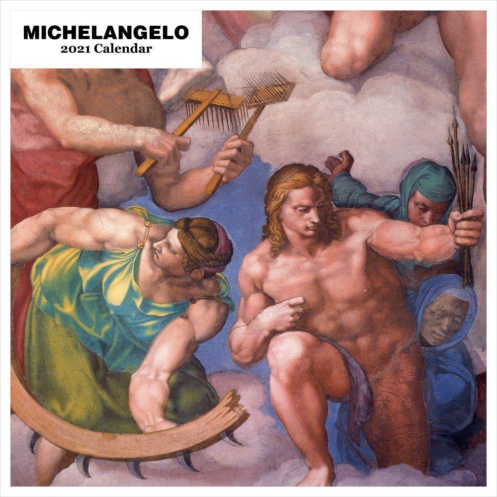 2021 Michelangelo Wall Calendar