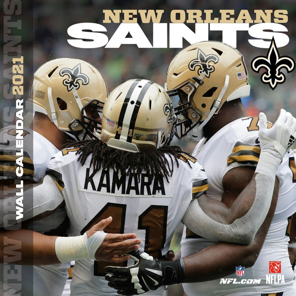 New Orleans Saints 2021 Wall Calendar