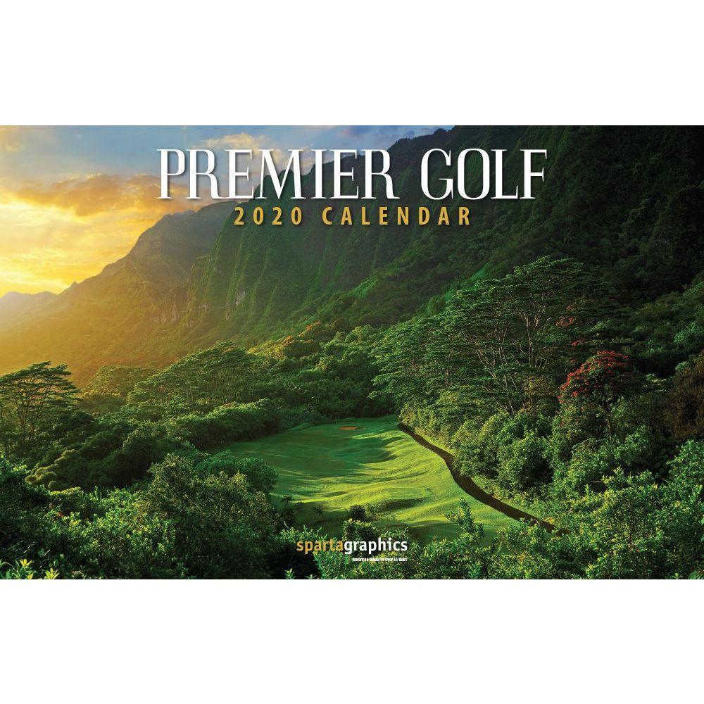 2021 Golf Premier Deluxe Wall Calendar