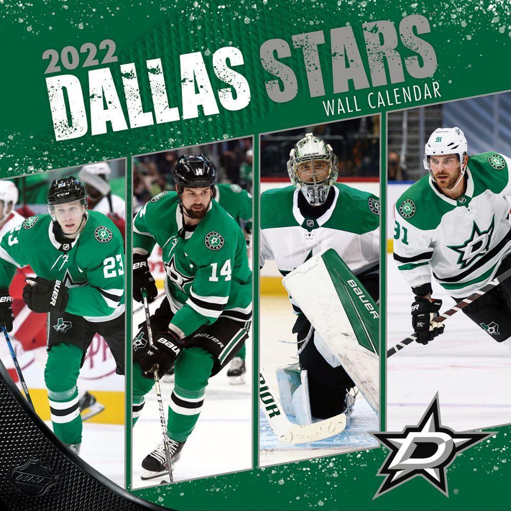 Dallas Stars 2022 Wall Calendar