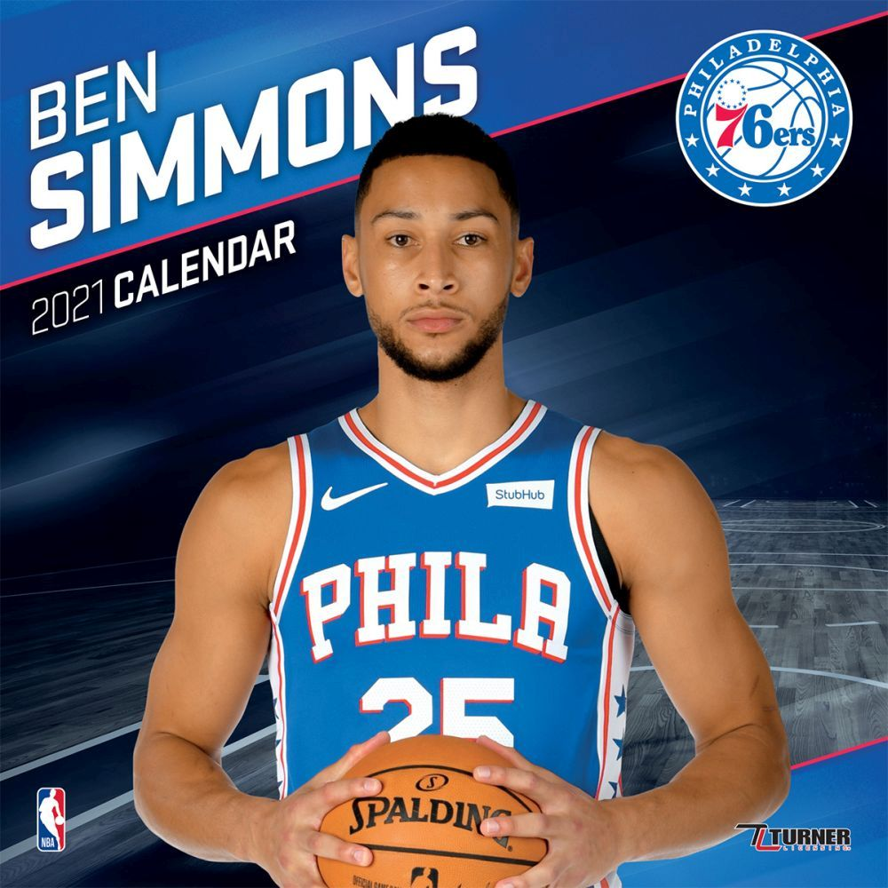 2021 NBA Ben Simmons Wall Calendar