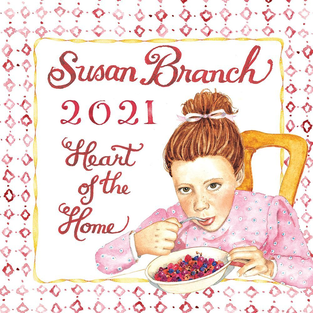 2021 Susan Branch Heart of the Home Mini Wall Calendar