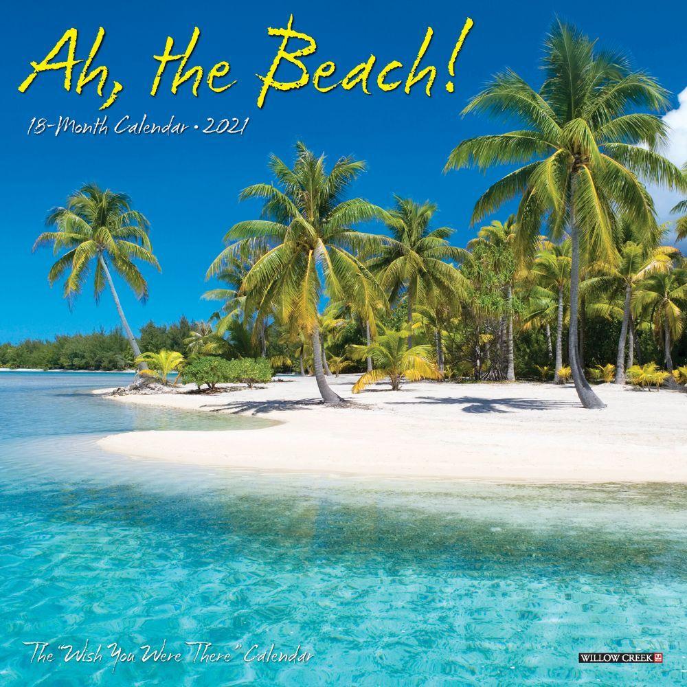 2021 Ah, The Beach Mini Wall Calendar