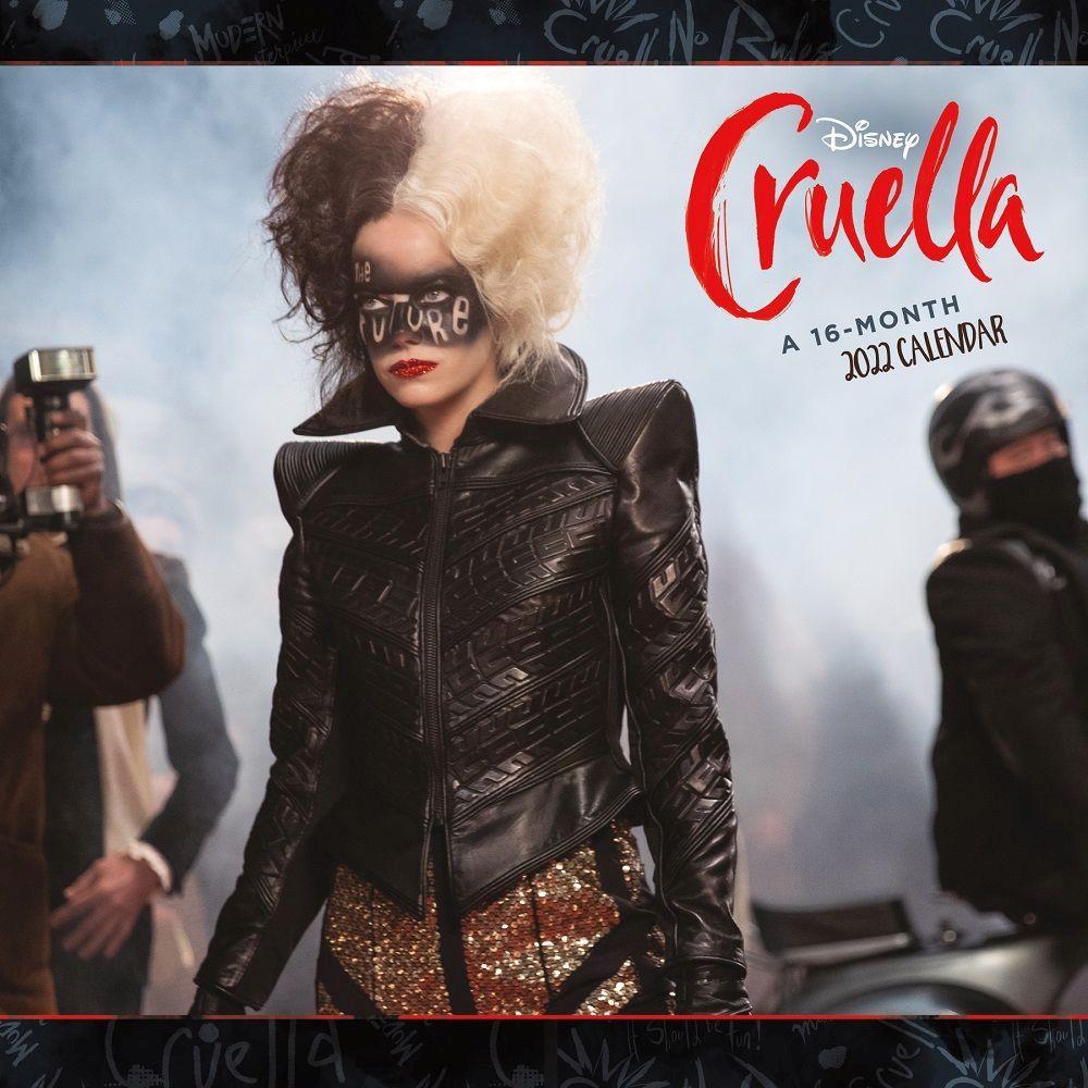 Cruella Live Action 2022 Wall calendar