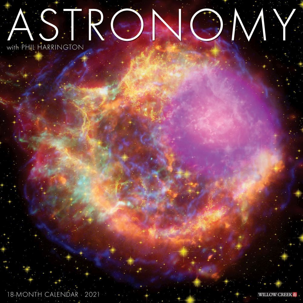 2021 Astronomy Mini Wall Calendar