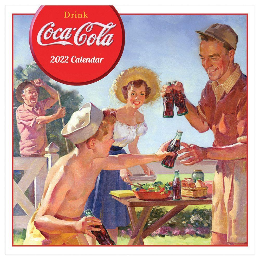 Coca Cola Anytime Nostalgia 2022 Wall Calendar