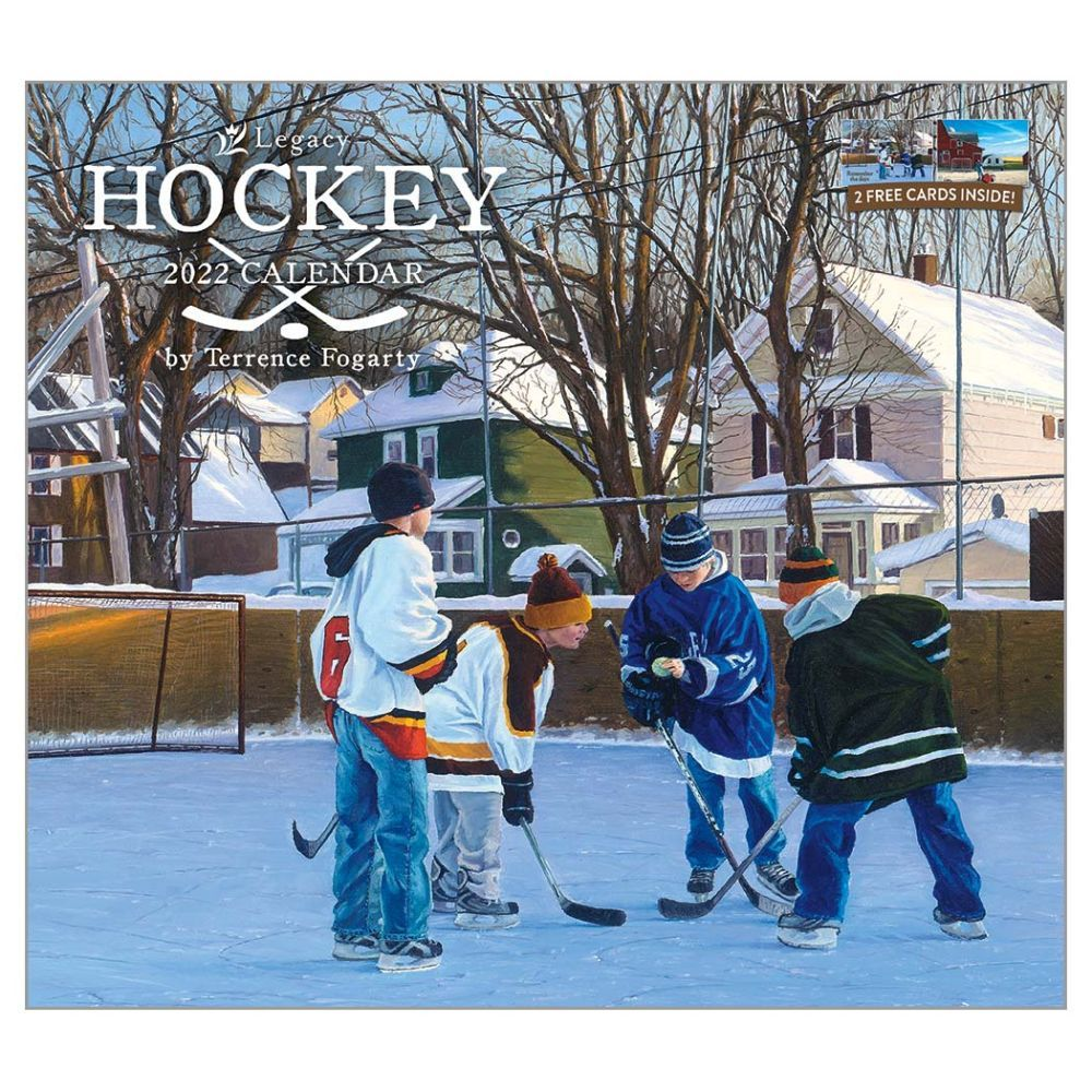 The Legacy Hockey 2022 Wall Calendar