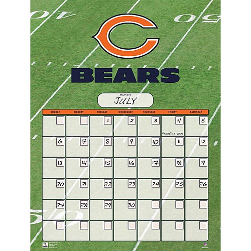 Chicago-Bears-Perpetual-Calendar-1