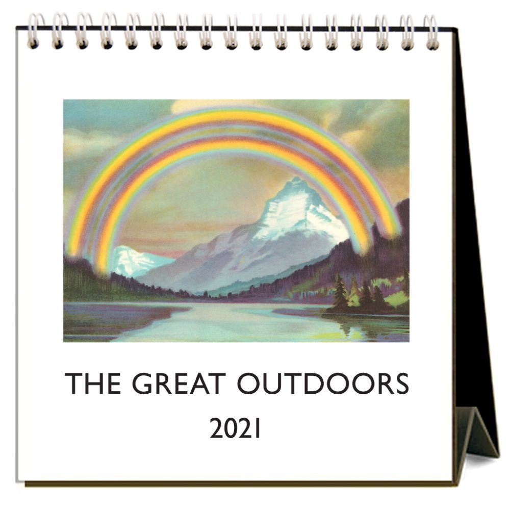 2021 Great Outdoors Easel Calendar