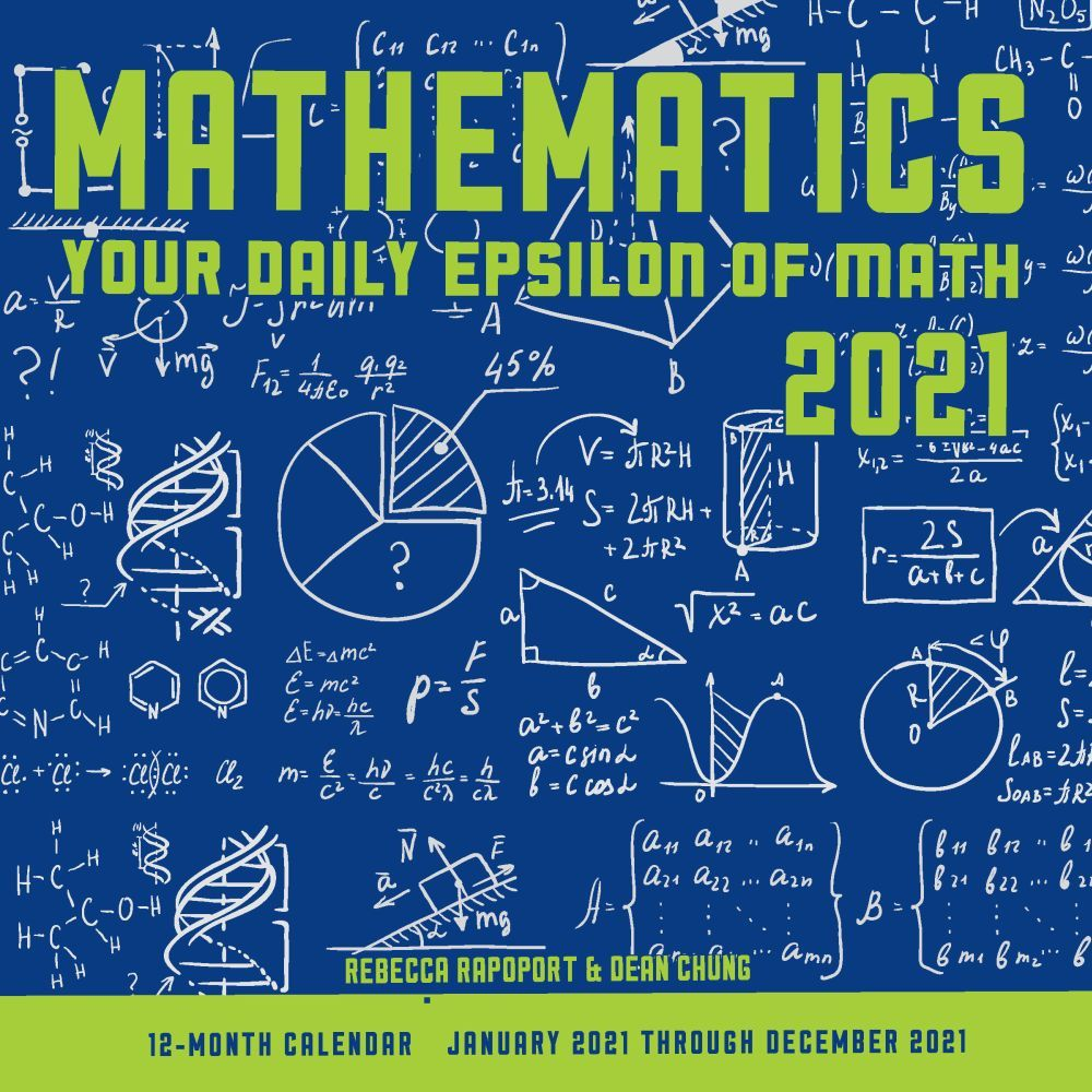 Mathematics 2021 Wall Calendar