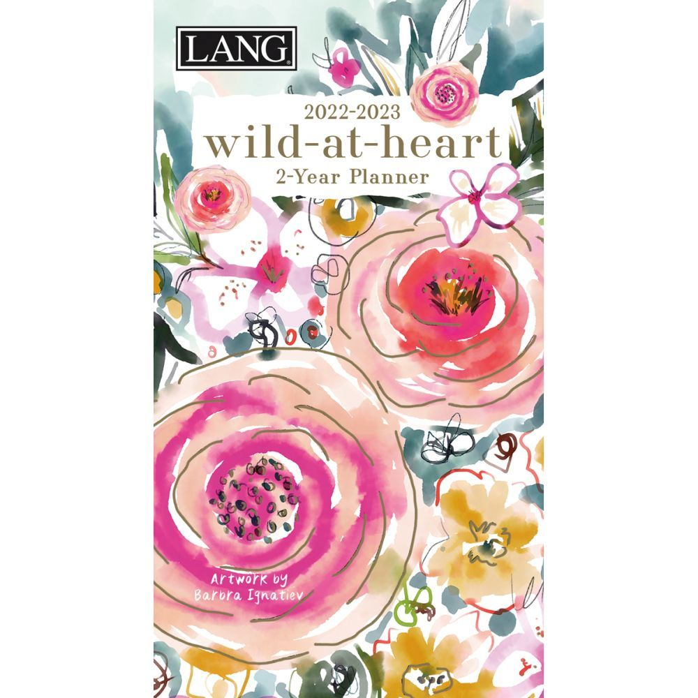 Wild At Heart 2022 Two Year Planner