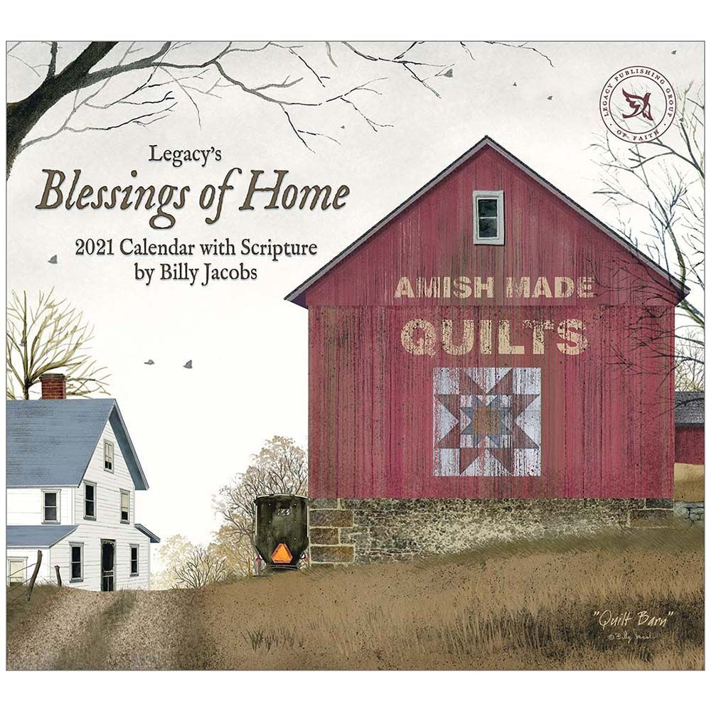 2021 Blessings of the Home Wall Calendar