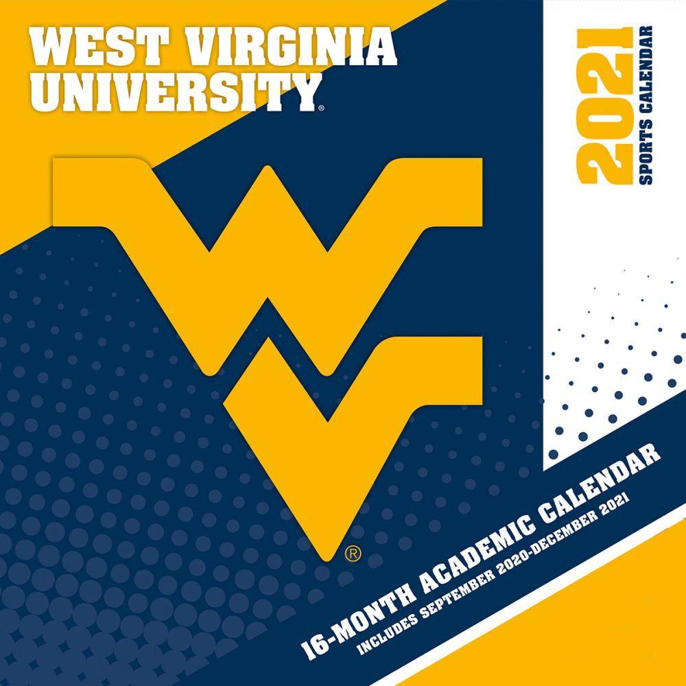 West Virginia University Mountaineers 2021 Wall Calendar