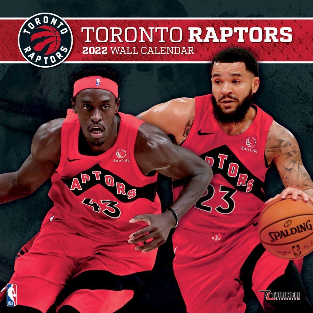 Toronto Raptors 2022 Wall Calendar