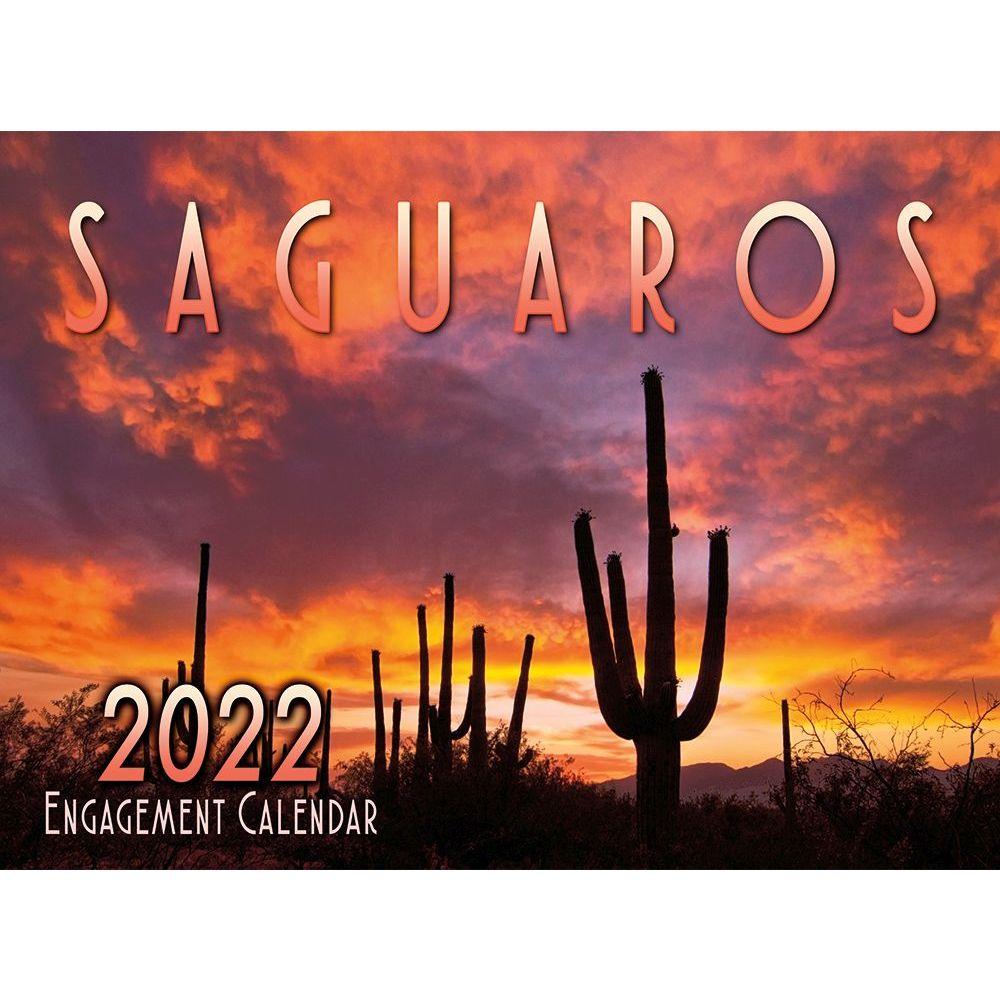Saguaros 2022 Wall Calendar