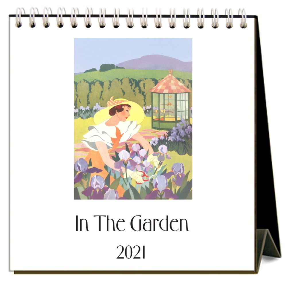 2021 In the Garden Easel Calendar
