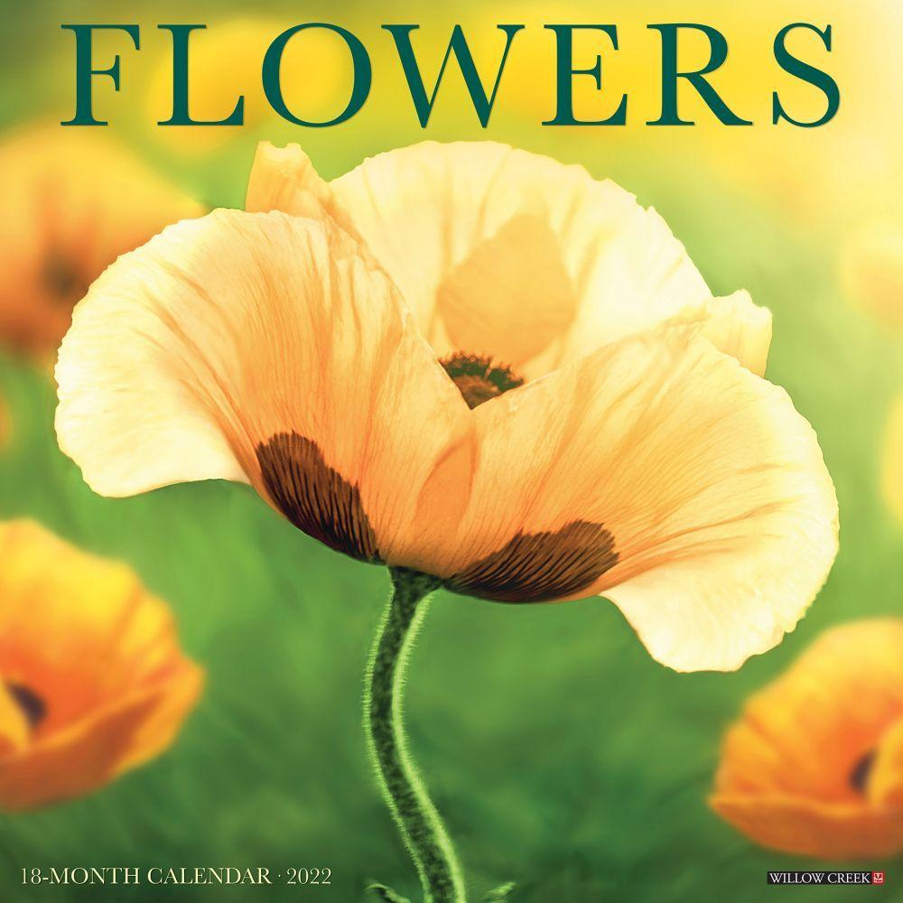 Flowers 2022 Wall Calendar