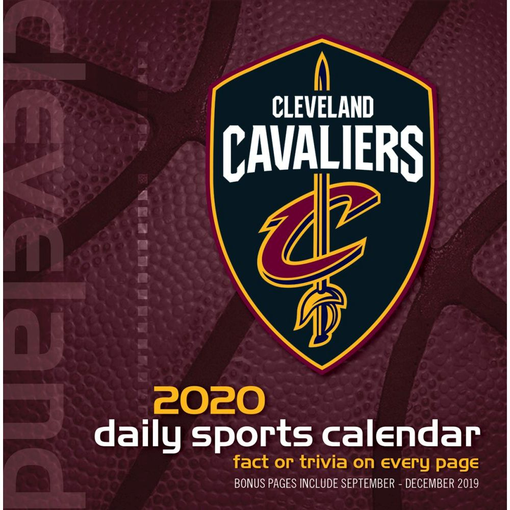 Cleveland Cavaliers 2021 Desk Calendar