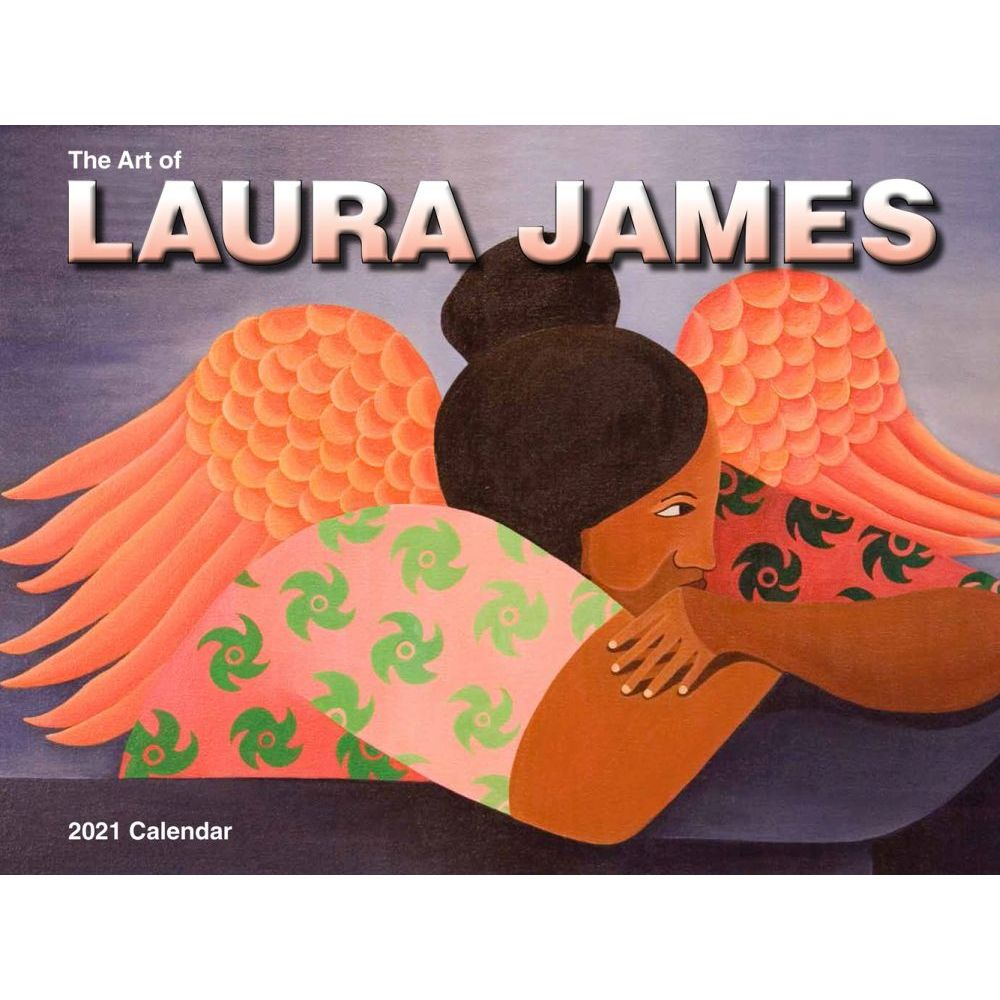 2021 James Art Wall Calendar