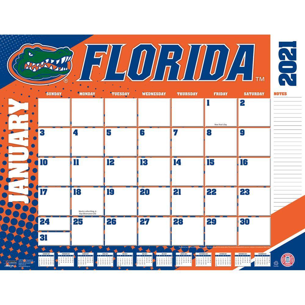 Florida Gators 2021 Desk Pad