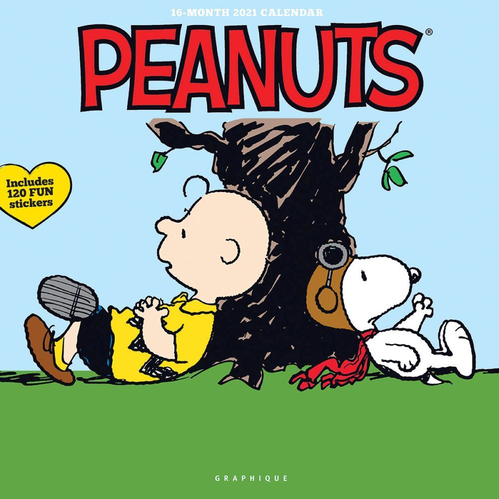 2021 Peanuts Happiness Is Wall Calendar