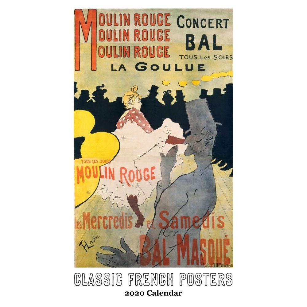 Toulouse-Lautrec Posters 2021 Wall Calendar