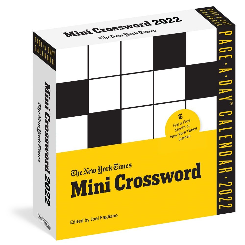 New York Times Mini Crossword 2022 Page-A-Day Calendar