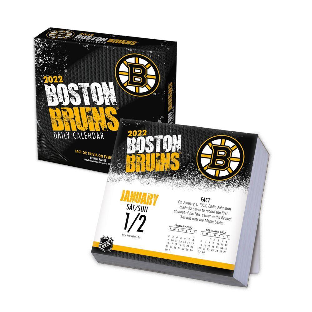 Boston Bruins 2022 Desk Calendar