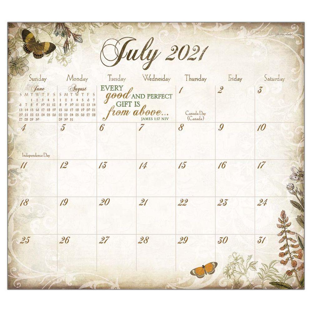 2021 Walk By Faith Magnetic Calendar