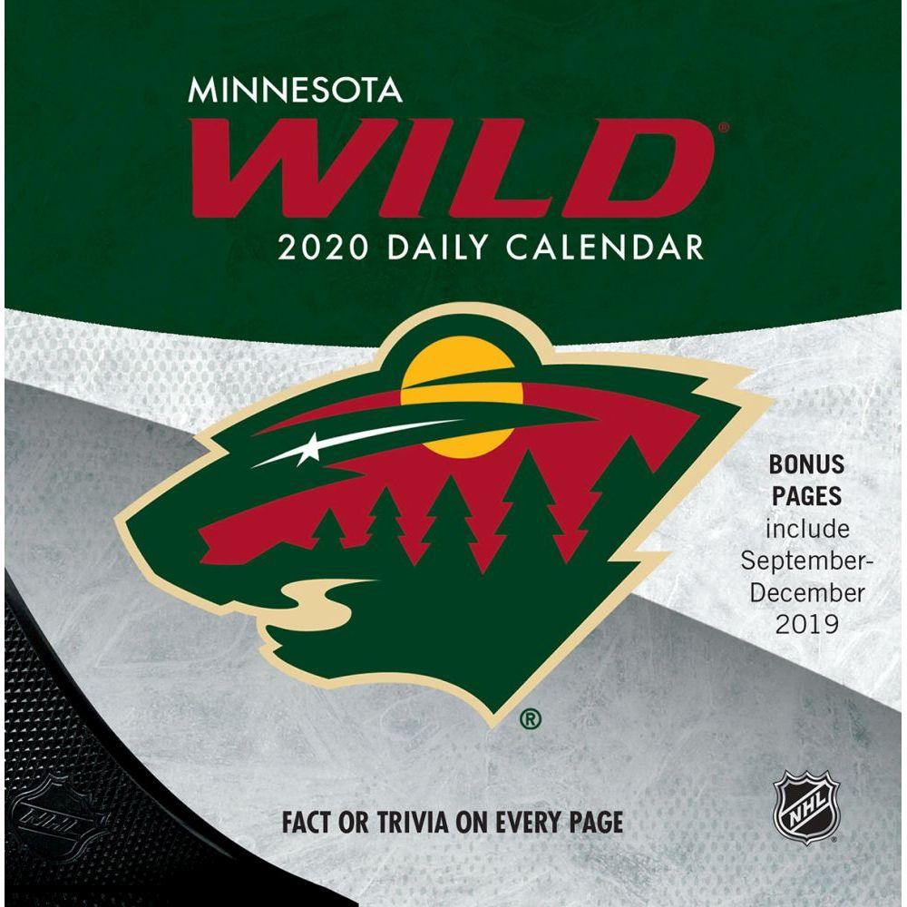 Minnesota Wild 2021 Desk Calendar