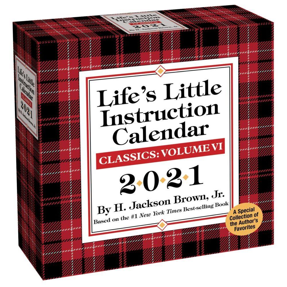 2021 Lifes Little Instruction Desk Calendar