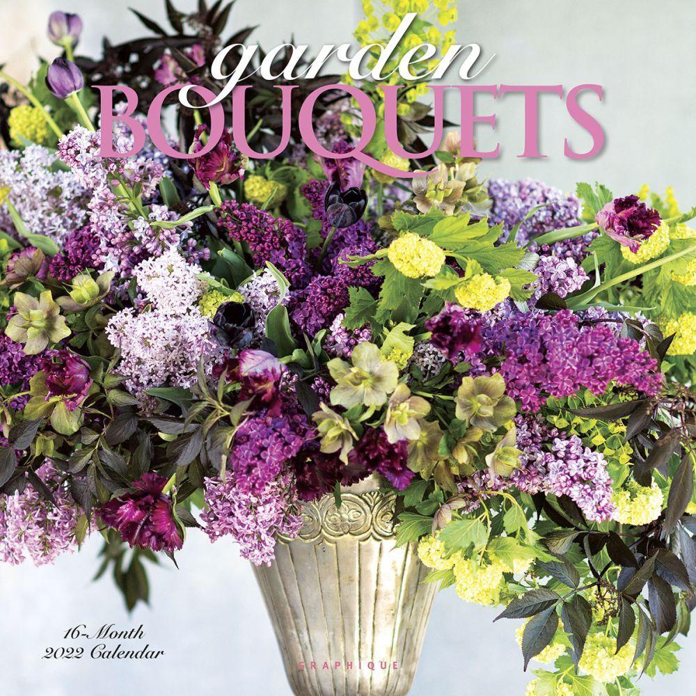 Garden Bouquets 2022 Wall Calendar