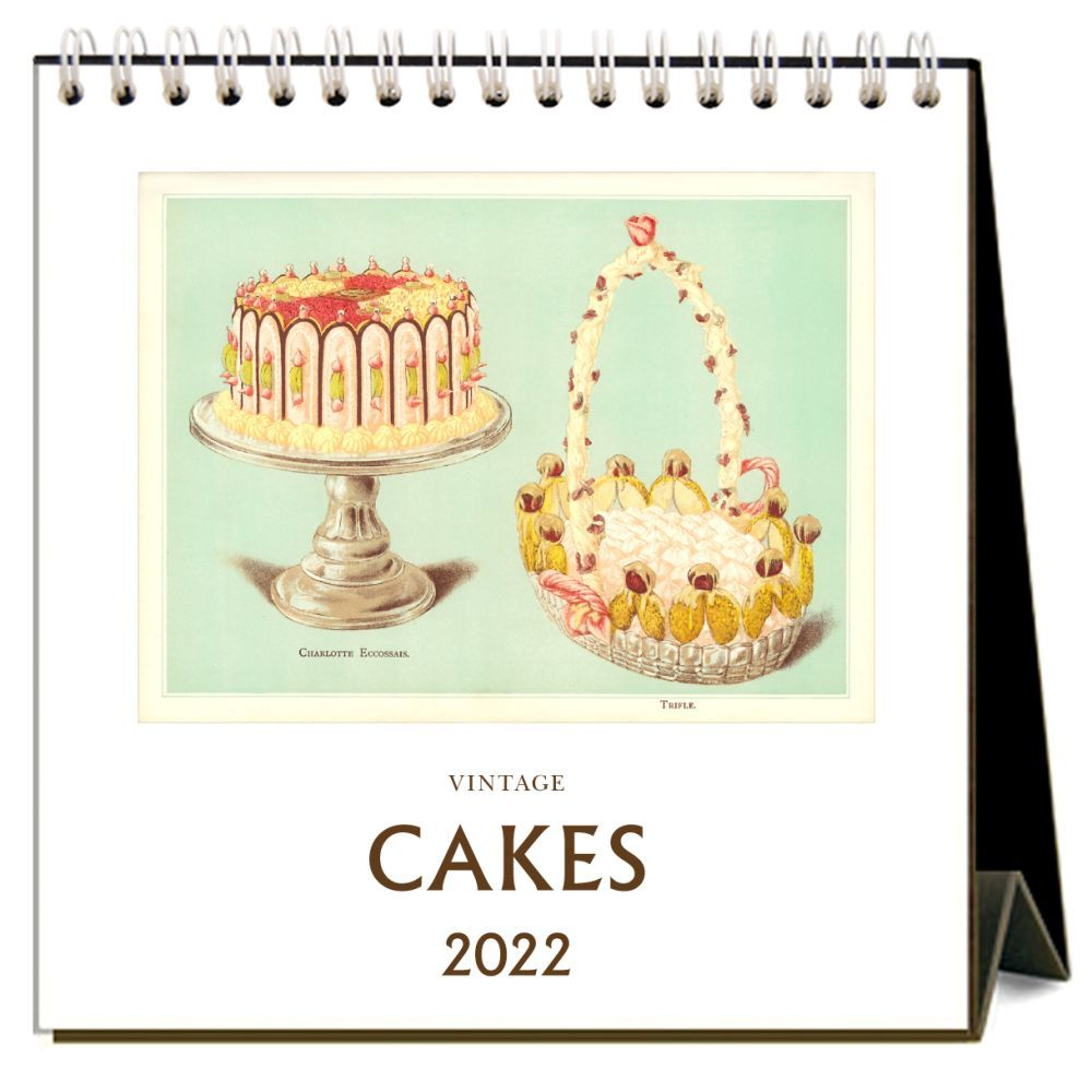 Cakes 2022 Desk Calendar