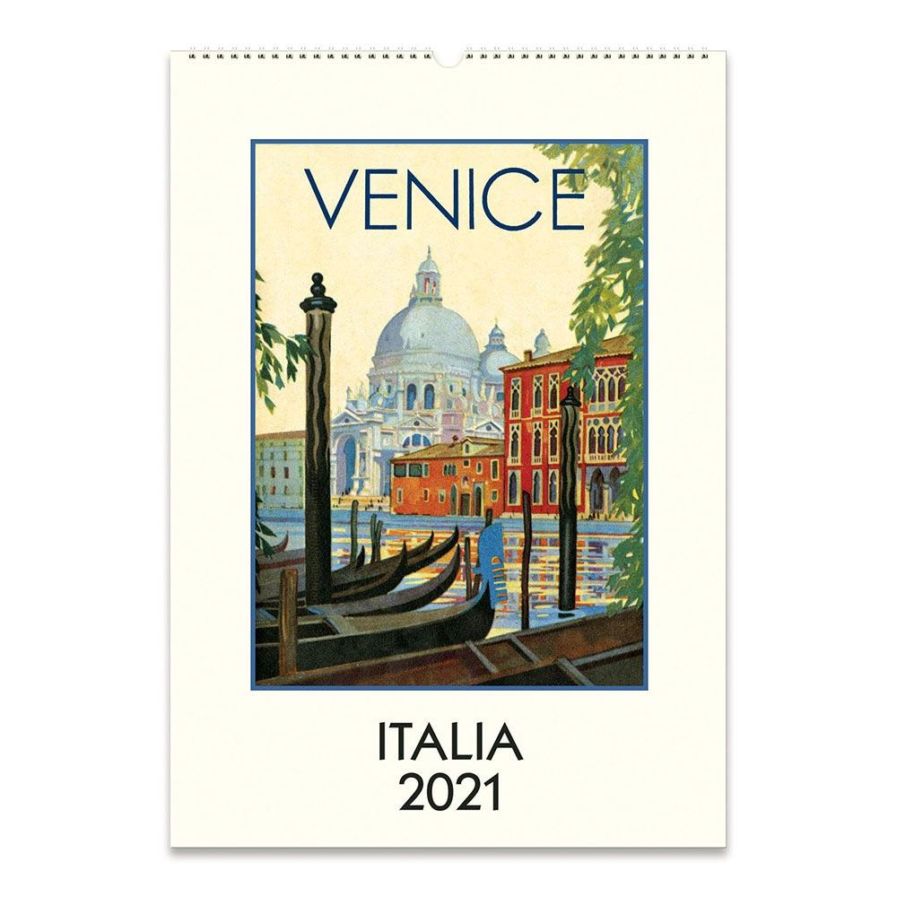 2021 Italia Art Poster Wall Calendar