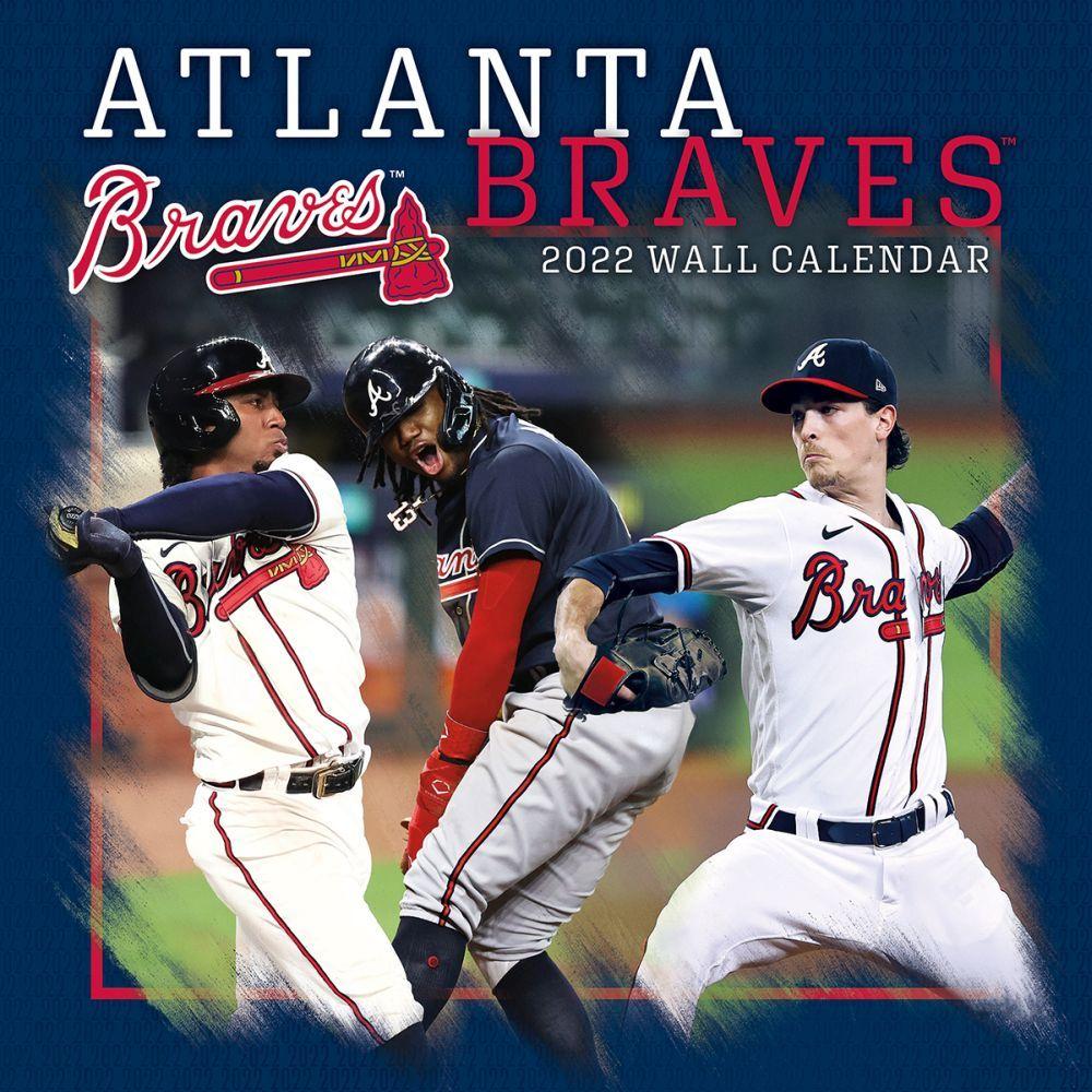 Atlanta Braves 2022 Wall Calendar