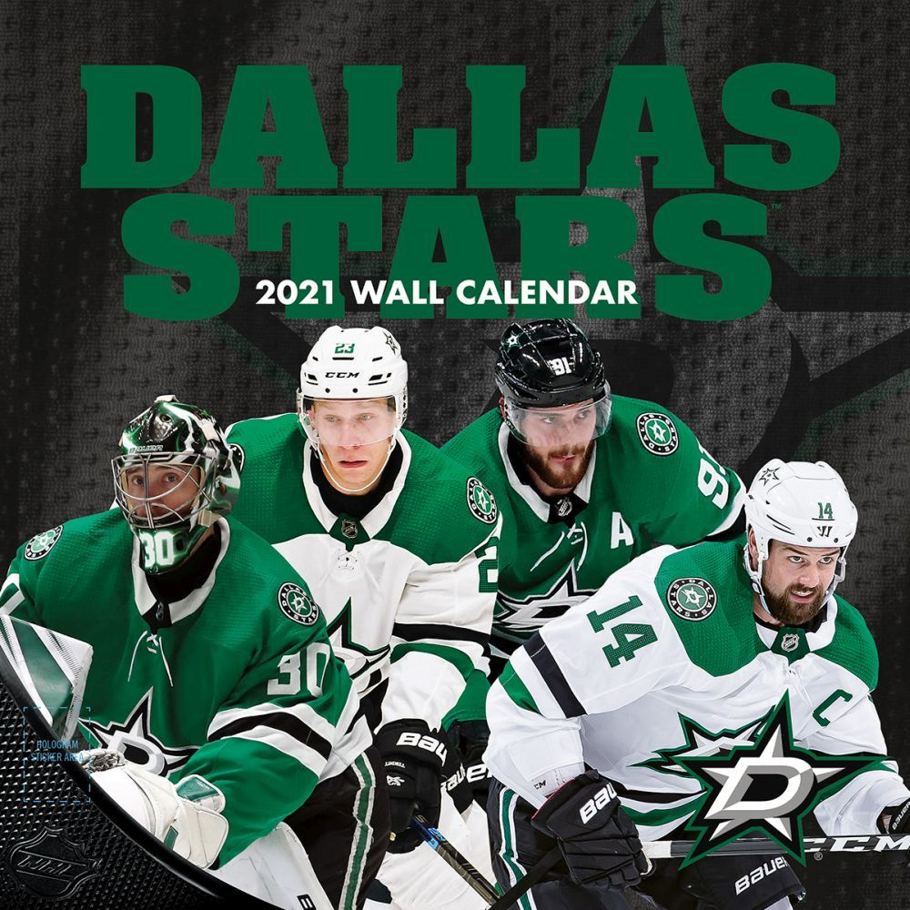 2021 Dallas Stars Wall Calendar