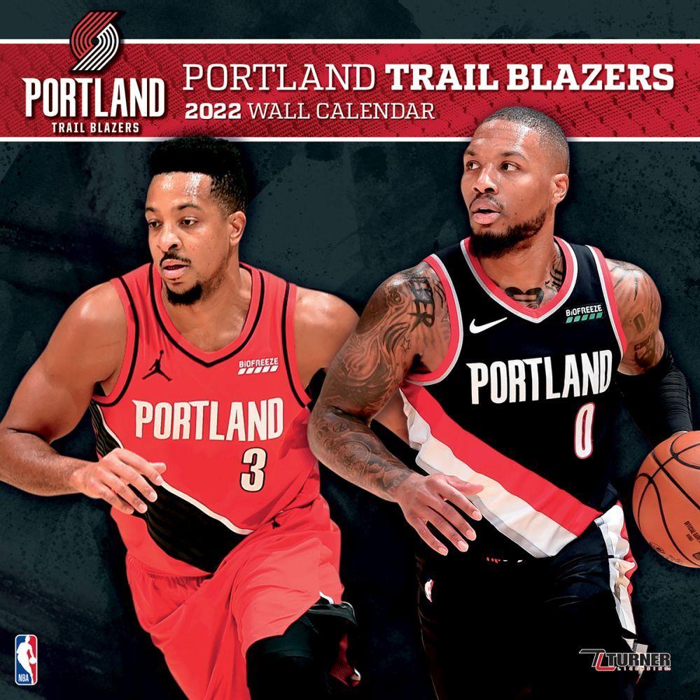 Portland Trail Blazers 2022 Wall Calendar